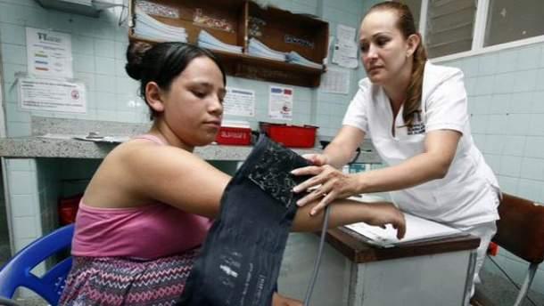 Беременная в Колумбии
