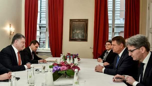 Встреча президентов