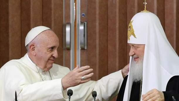 Встреча Папы Римского Франциска и патриарха Кирилла