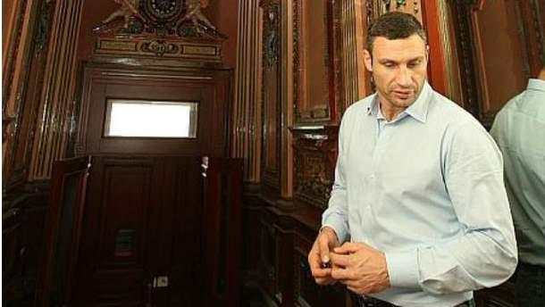 Віталій Кличко у своїй київській квартирі