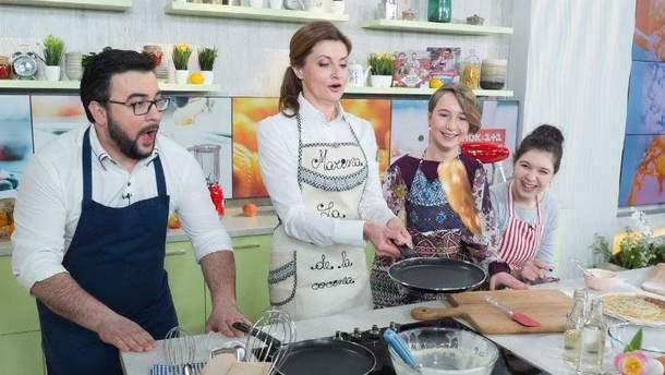 Перша леді готує