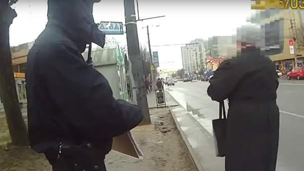 Как полицейские пешеходов штрафовали