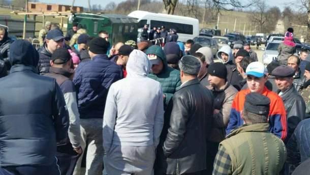 Блокада границы на Буковине