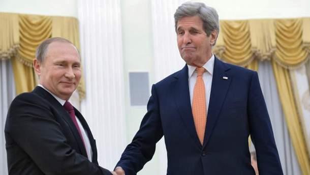 Владимир Путин, Джон Керри