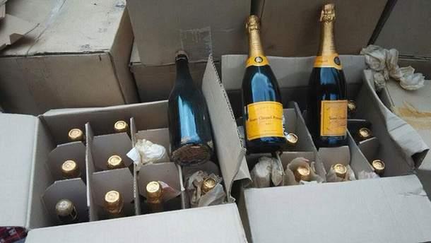 Підроблене шампанське