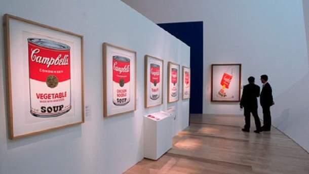 Выставка картин Энди Уорхола