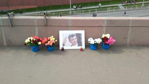 Меморіал на місці вбивства Нємцова