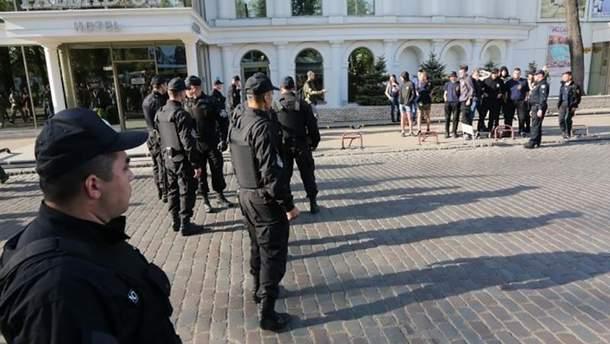 Поліція на вулицях Одеси