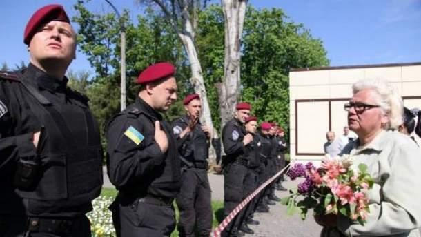 Правоохранители охраняют порядок в Одессе