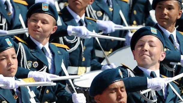 Парад в Казахстане