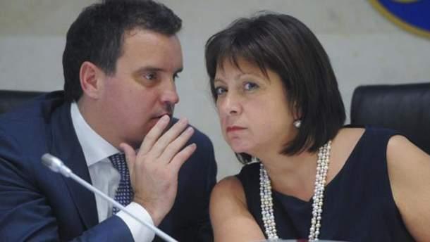Айварас Абромавичус та Наталія Яресько