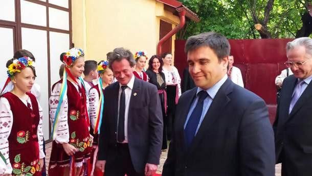 Павел Климкин во время визита