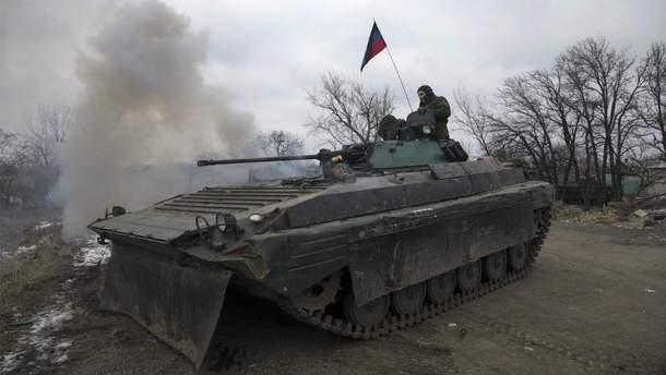 Россия перебросила боевикам серьезное подкрепление
