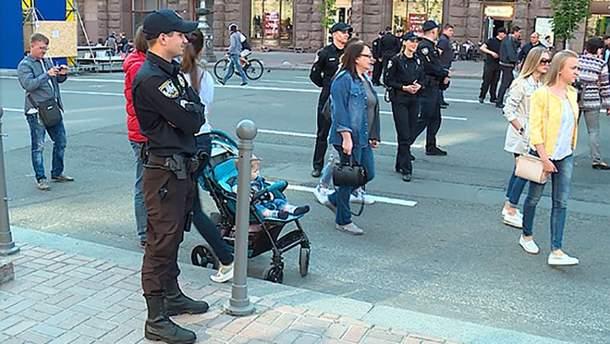 Благодаря действиям полиции 9 мая прошло мирно