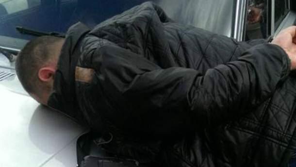 Задержанный офицер полиции