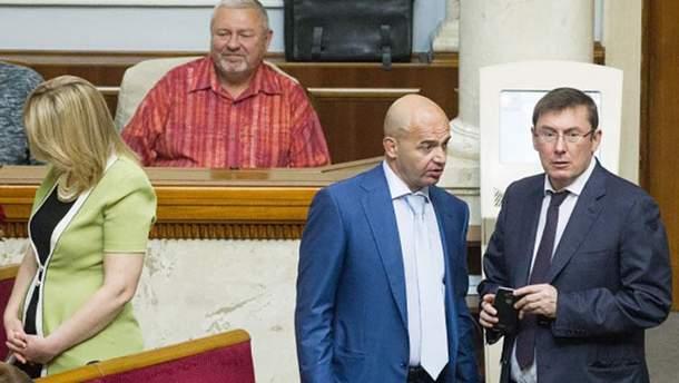 Игорь Кононенко и Юрий Луценко