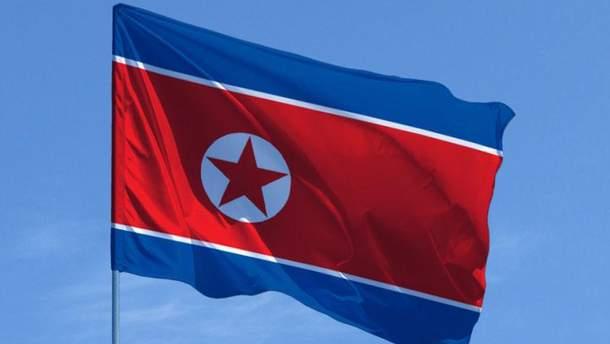 Прапор КНДР