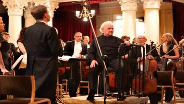 Музыканты мира отметили в Украине столетие Менухина