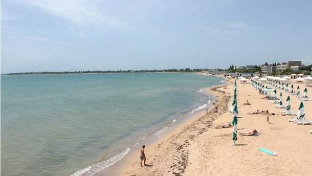 Пляж Криму