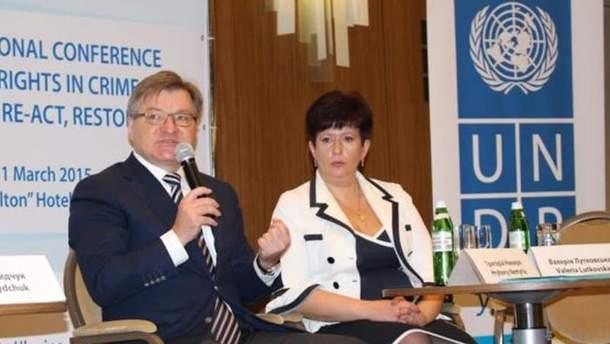 Григорий Немыря и Валерия Лутковская