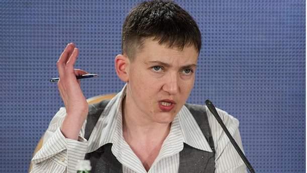 Выступление Надежды Савченко откроет Раду