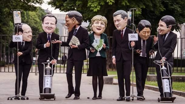 Над G7 можно смеяться, но не считаться невозможно