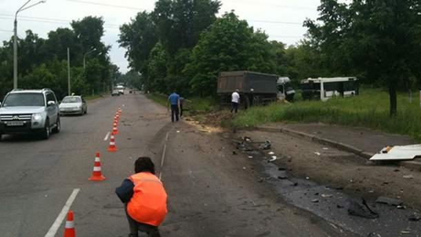 В аварії постраждали 9 людей
