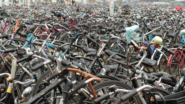 Китайские велосипеды незаконно завезли в порт