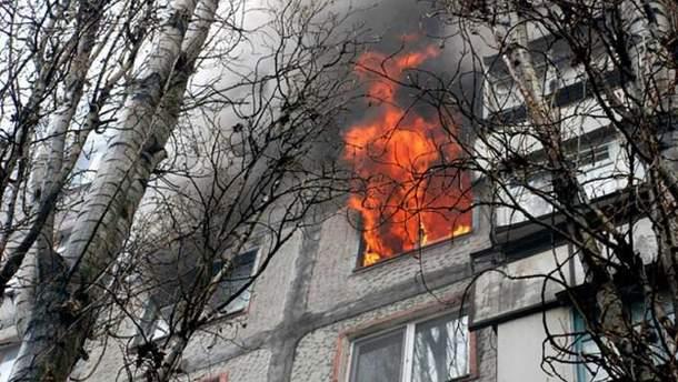 У Московському районі Харкова загорівся гуртожиток (ілюстрація)