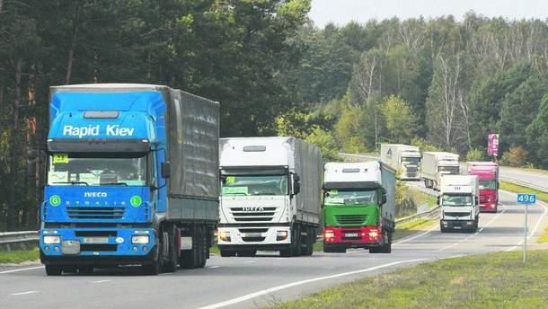 Турция блокировала украинские грузовики на границе