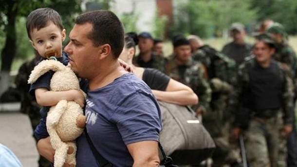 В Украине насчитывается более 1,7 миллиона вынужденных переселенцев