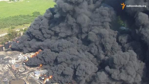 Тільки протягом місяця в 2015 році під Києвом сталося дві великі пожежі