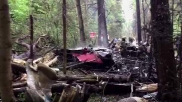 Разбитый самолет