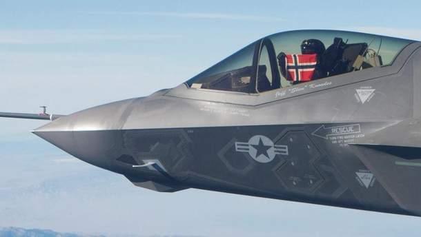 Норвегія закупить 52 винищувача F-35