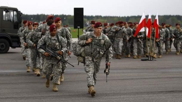 Військові навчання НАТО у Польщі