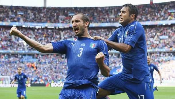 Італійці вибили з турніру чинних чемпіонів