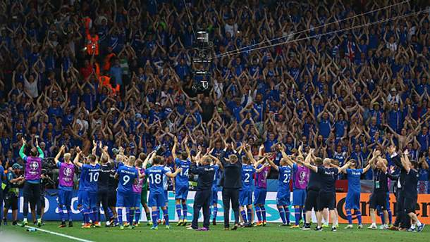 Збірна Ісландії – головна несподіванка турніру