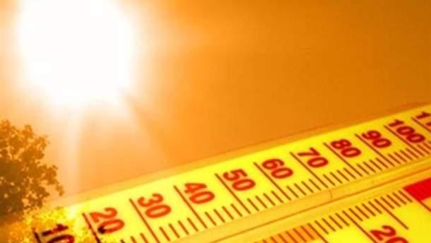 Киев уже бьет температурные рекорды
