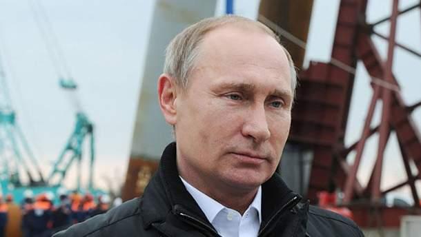 Путин на строительстве Керченского моста