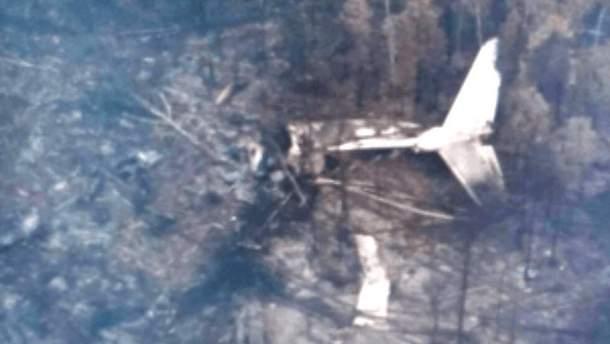 Фото с места катастрофы