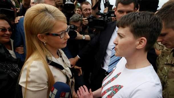 Встреча Савченко с Тимошенко