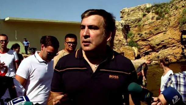 Саакашвілі знову звільняє доступ до одеських пляжів