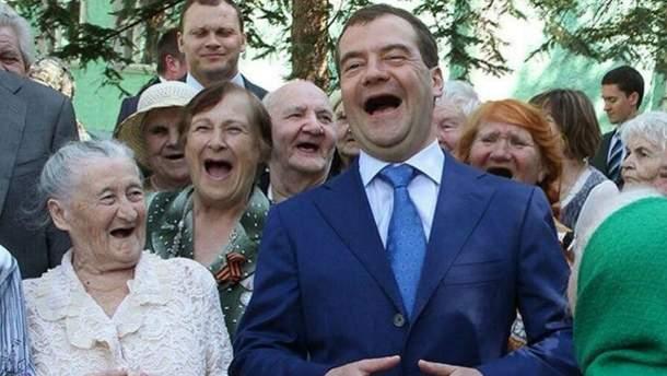Фотожаба про российского премьера