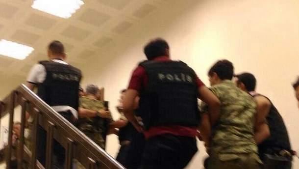 Арест мятежников
