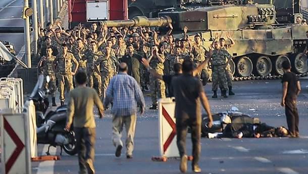 Спроба перевороту в Туреччині