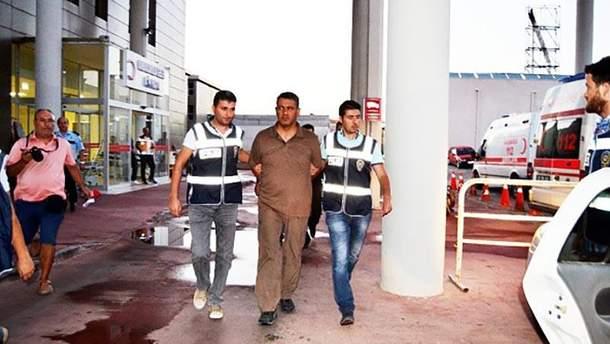 Затримання в Туреччині