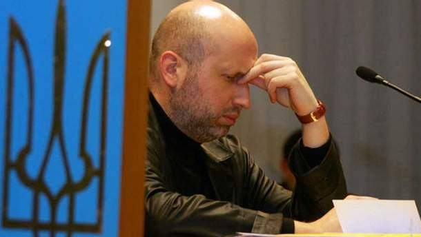 Председатель СНБО Александр Турчинов