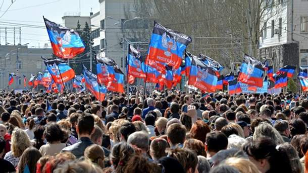 На окупованих територіях Донбасу