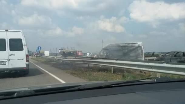 Масштабна аварія на Кіровоградщині