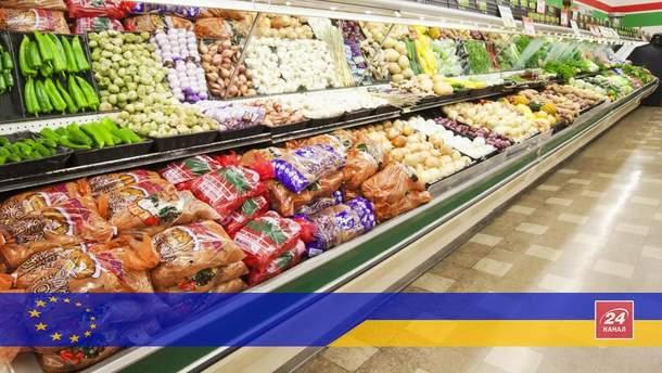 Украинские продукты будут по-европейски безопасными